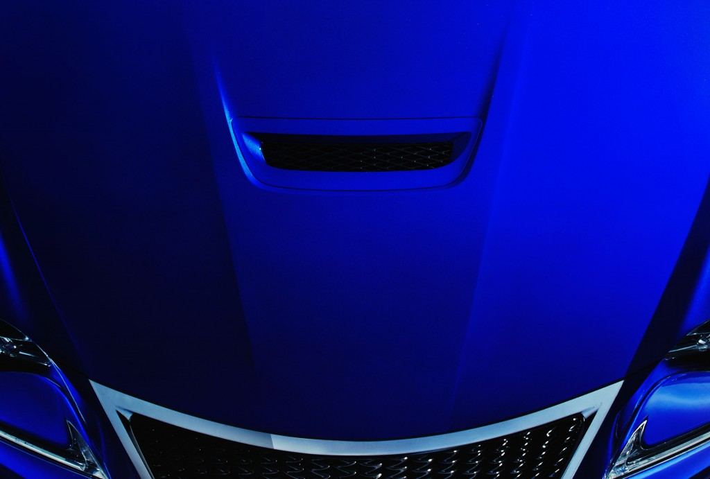 Lexus F performance coupe teaser