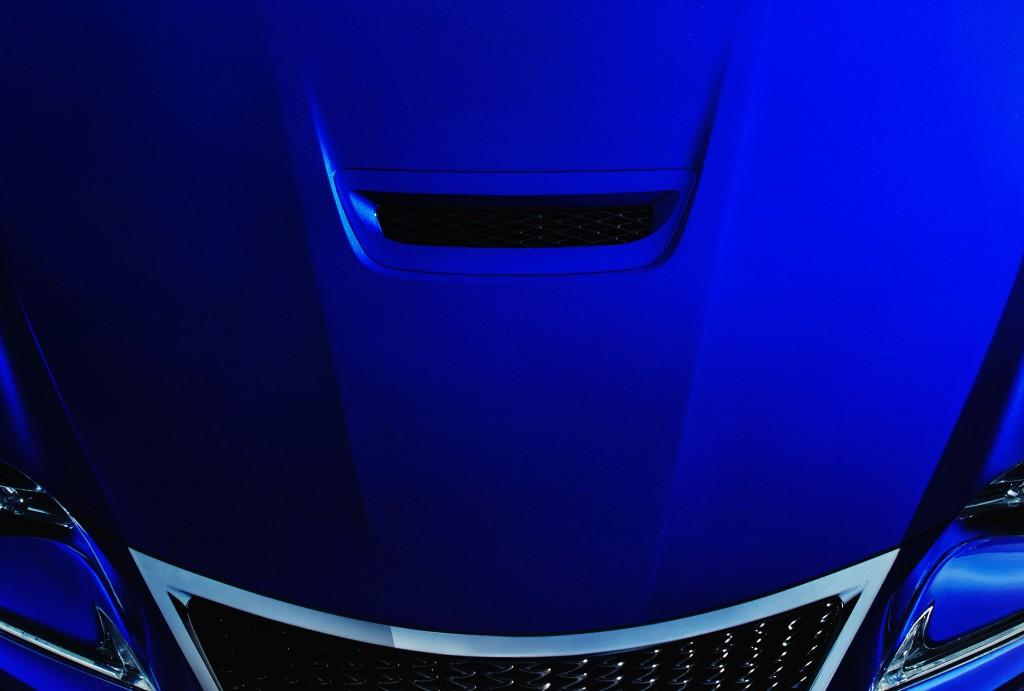 Lexus F performance coupe teaser