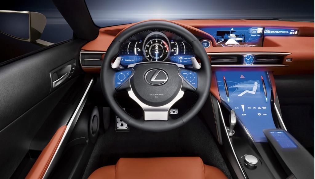 Image Lexus LFCC coupe concept size 1024 x 584 type gif