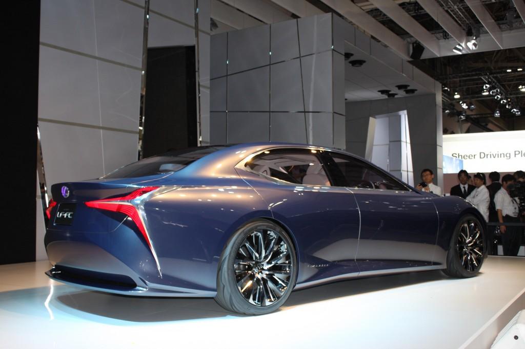 Image lexus lf fc concept 2015 tokyo motor show size for Tokyo motor show lexus