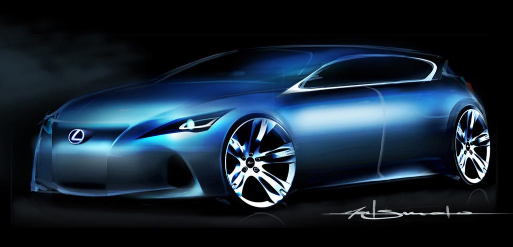 Lexus Premium Compact Concept official teaser
