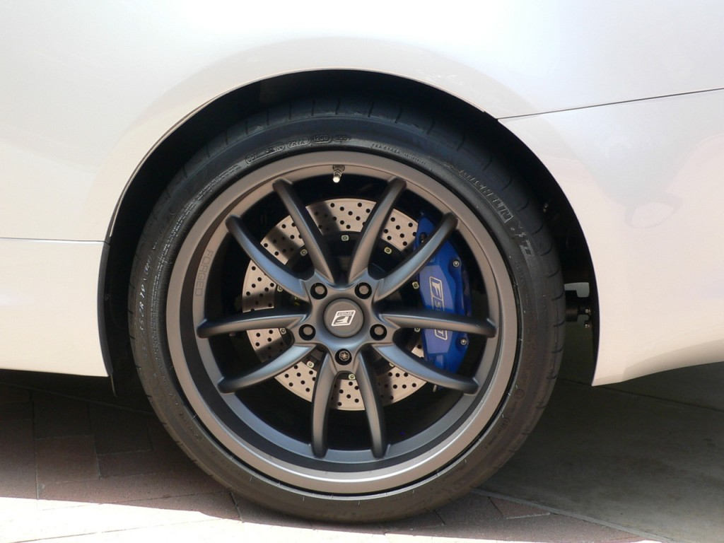 2010 Lexus IS 350C with F Sport wheels and brakes