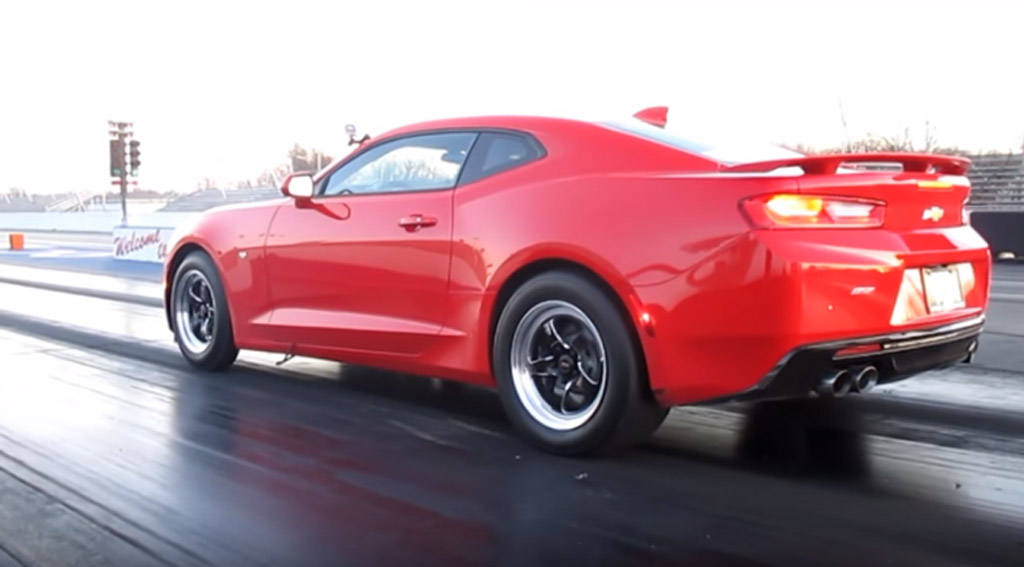 2016 Chevy Camaro Ss Already Into The 10s Video