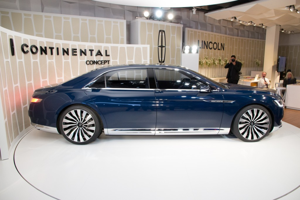 image lincoln continental concept unveiling new york city march 29 2015 size 1024 x 682. Black Bedroom Furniture Sets. Home Design Ideas