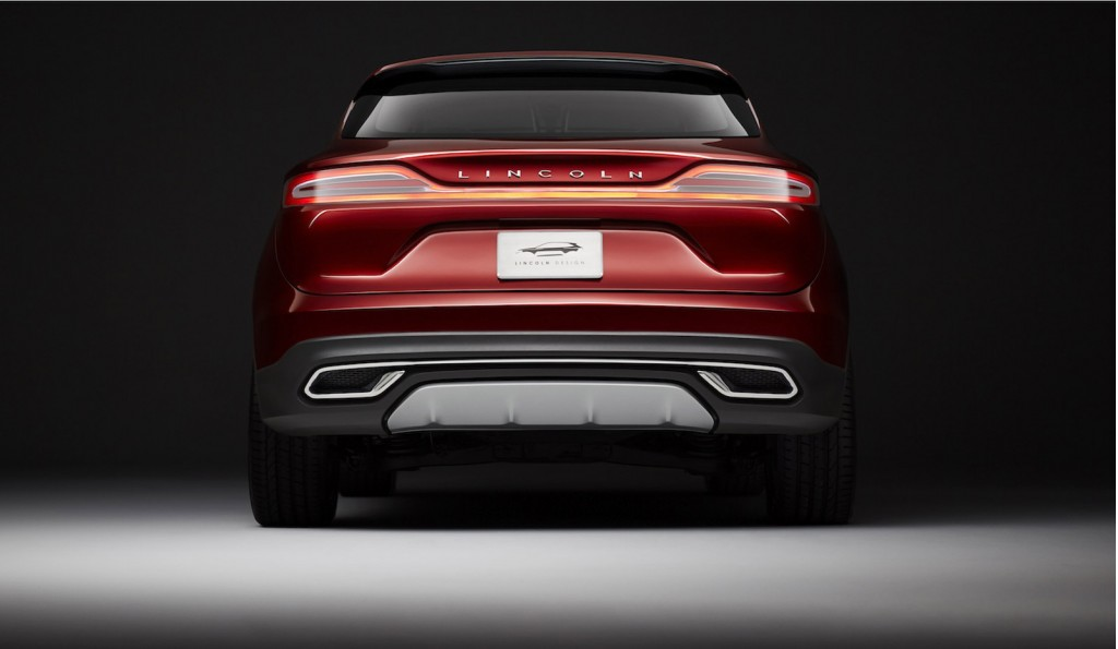 Lincoln MKC concept Black Label Modern Heritage