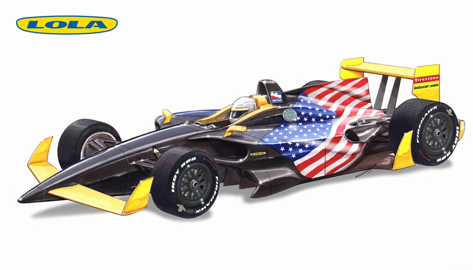 Lola Unveils B12 00 And B12 01 2012 Indycar Prototype