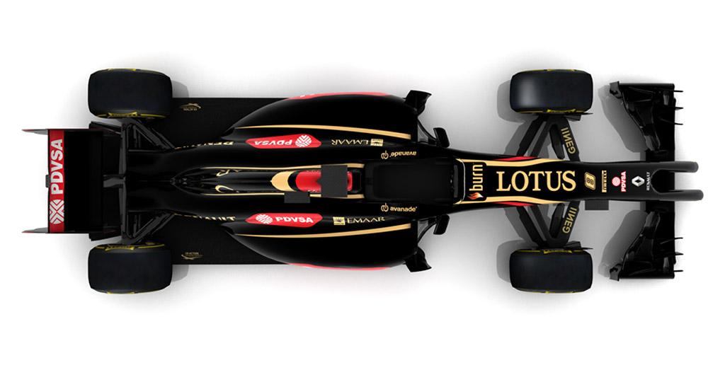 Lotus' E22 2014 Formula One car