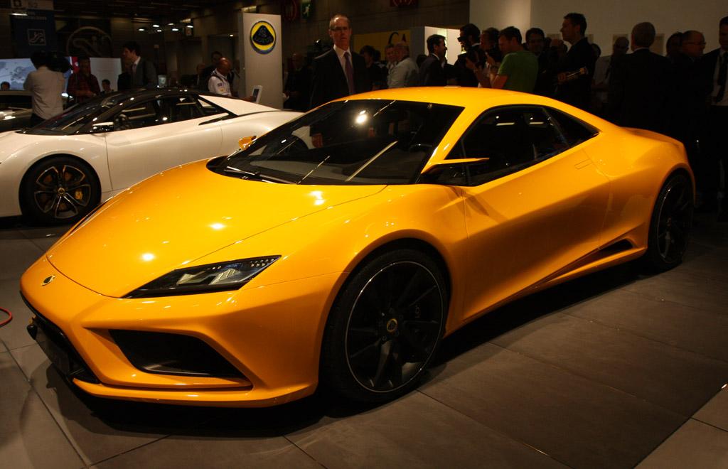 2010 paris auto show  2013 lotus elan live photos