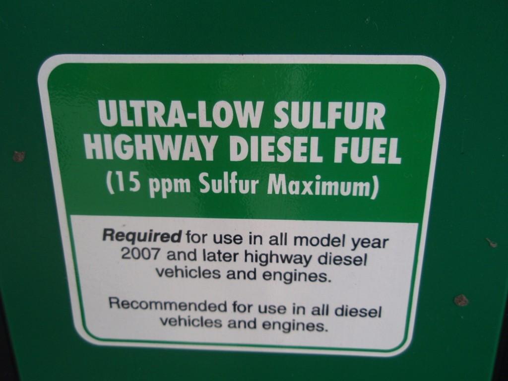 low-sulfur diesel