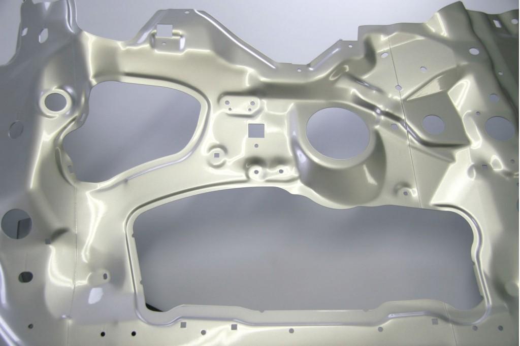 Magnesium vehicle construction