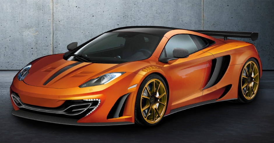 Mansory's restyled McLaren MP4-12C