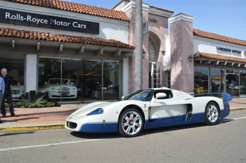 Maserati MC12 for sale on eBay. Image: Symbolic Motors