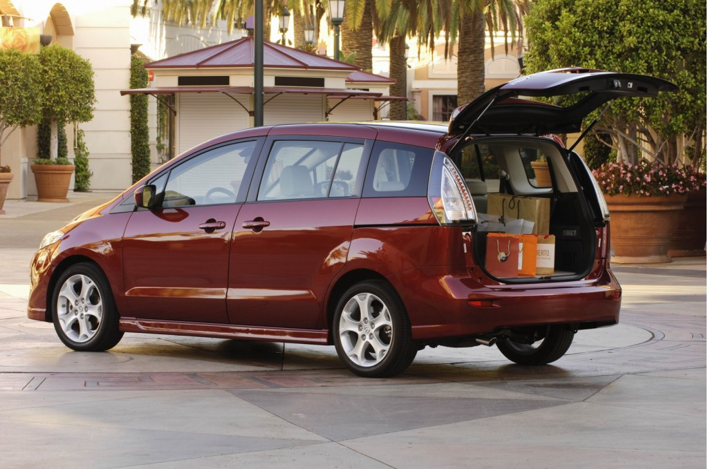 The 2010 Mazda5 Is A Genre Buster That's Ahead Of Its Time