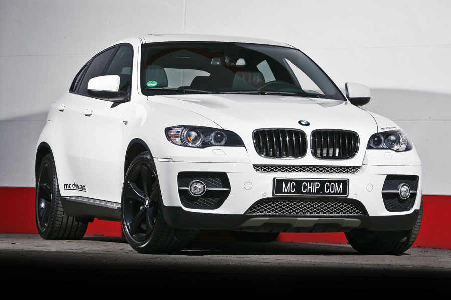 bmw x6 white shark upgrade package by mcchip. Black Bedroom Furniture Sets. Home Design Ideas