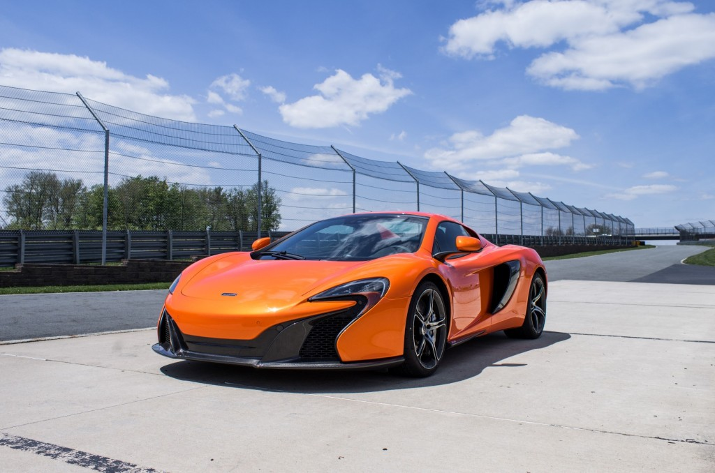 McLaren 650S first drive. Photo by Michael Crenshaw Photography.