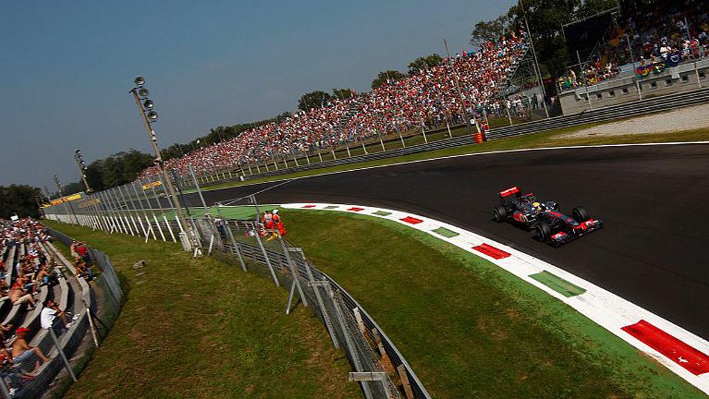 McLaren at the 2012 Formula 1 Italian Grand Prix