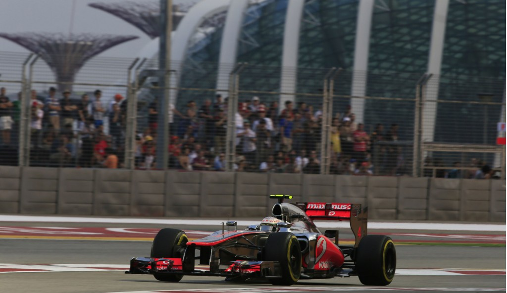 McLaren at the 2012 Formula 1 Singapore Grand Prix
