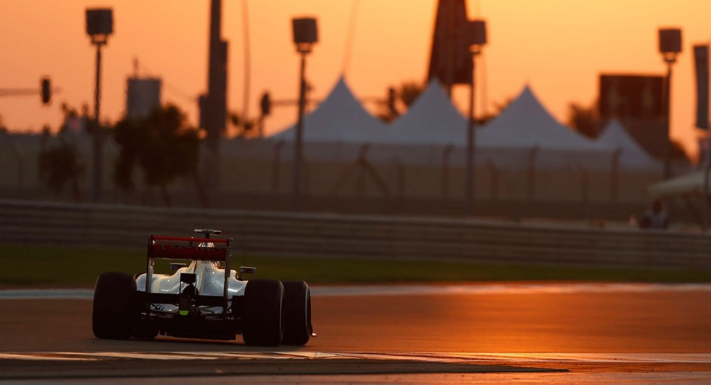 McLaren at the 2013 Formula One Abu Dhabi Grand Prix