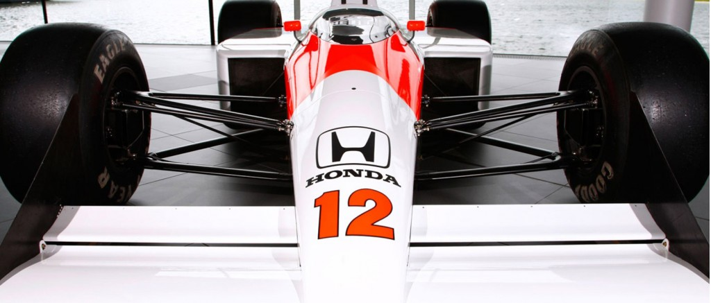McLaren F1 car powered by Honda