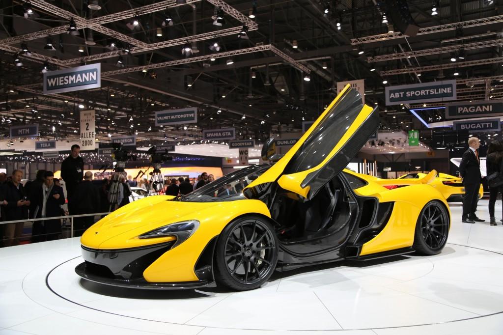 McLaren P1, 2013 Geneva Motor Show