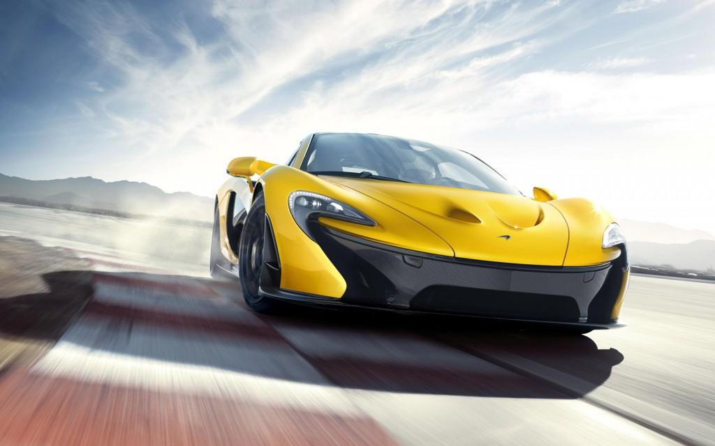McLaren P1 supercar
