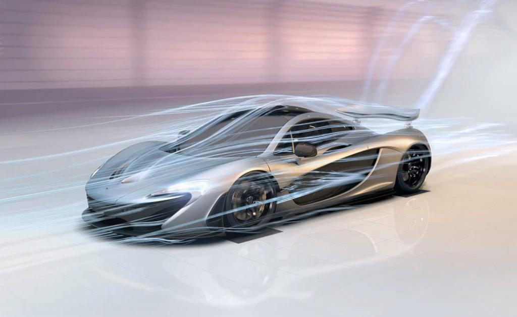 McLaren P1 interactive experience