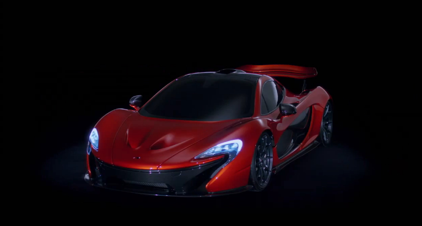 McLaren's P1, from its Paris reveal video