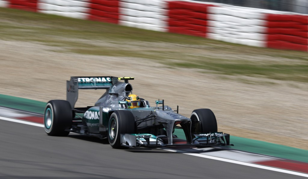 Mercedes AMG at the 2013 Formula One German Grand Prix