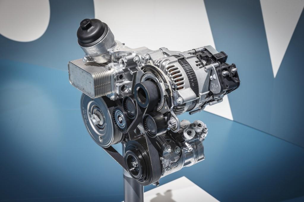 Image: Mercedes-Benz belt-driven starter generator (RSG ...