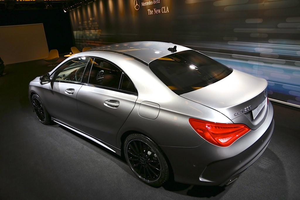 2014 Mercedes-Benz CLA 200 (Euro-spec car)