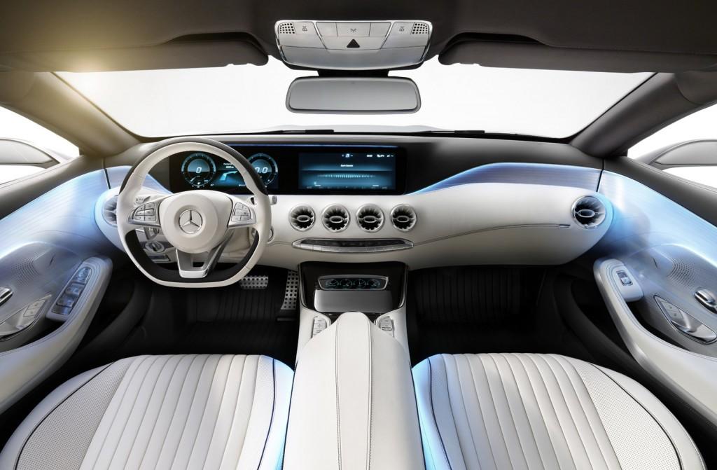 Mercedes-Benz Concept S-Class Coupe, 2013 Frankfurt Auto Show