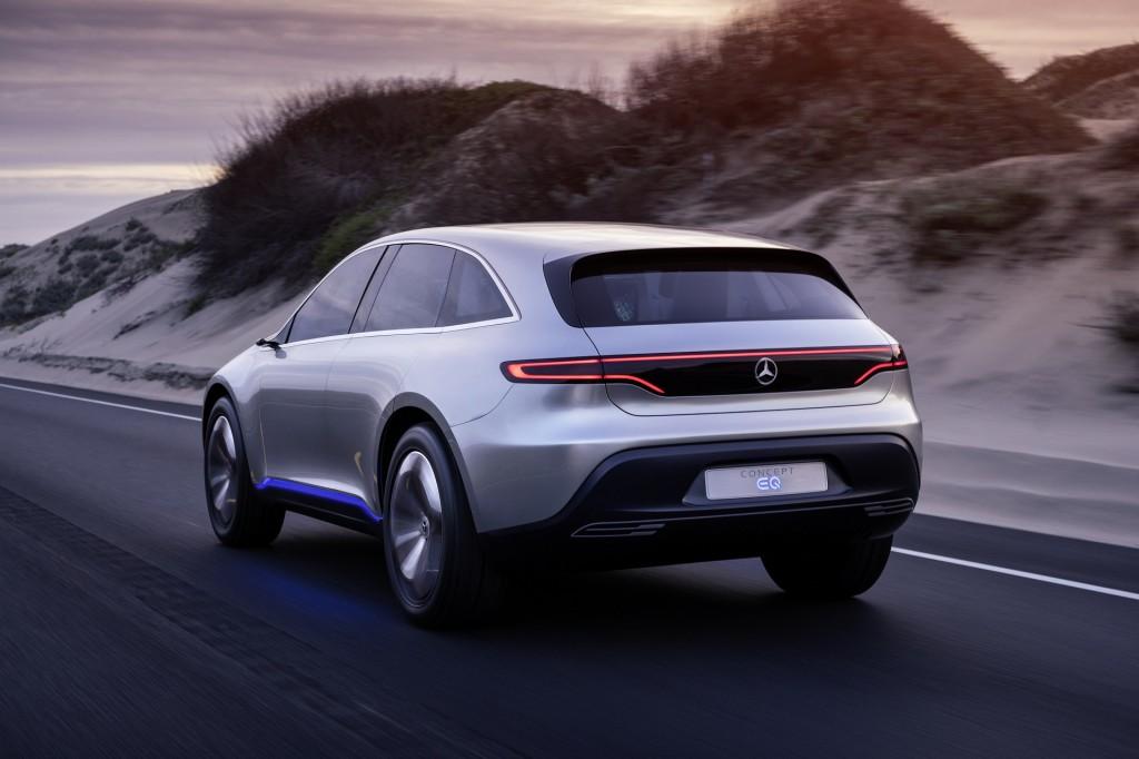 Image mercedes benz eq electric car concept photo axel for Mercedes benz electric truck