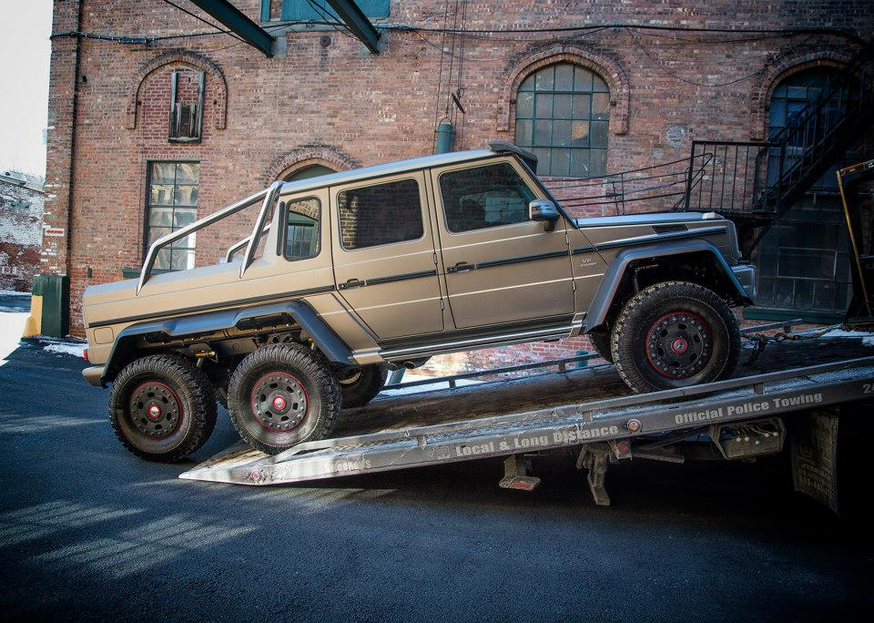 Mercedes benz brings g63 amg 6x6 to the northeast for Mercedes benz g63 amg 6x6 price