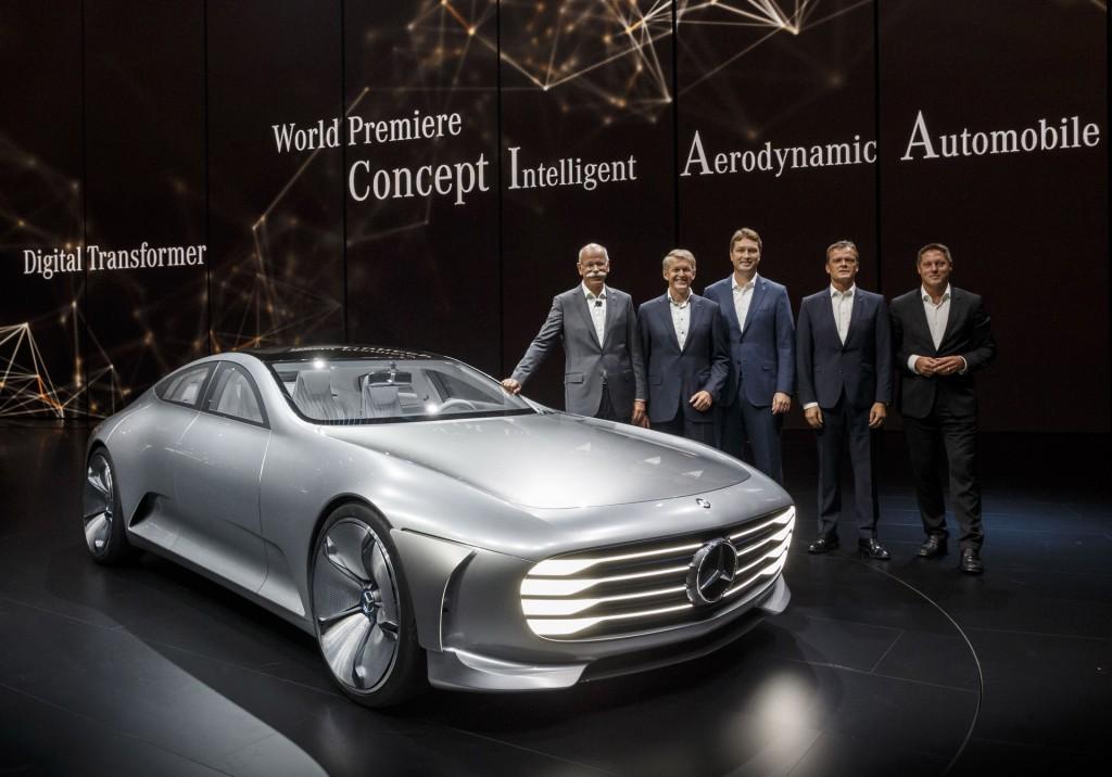 image mercedes benz intelligent aerodynamic automobile. Black Bedroom Furniture Sets. Home Design Ideas