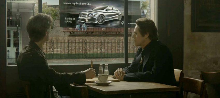 Mercedes-Benz pitches the CLA in its Super Bowl XLVII ad