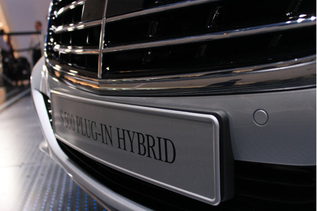2015 Mercedes-Benz S500 Plug-In Hybrid, 2013 Frankfurt Auto Show