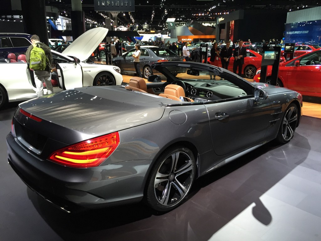 image 2017 mercedes benz sl450 2015 los angeles auto show size 1024 x 768 type gif posted. Black Bedroom Furniture Sets. Home Design Ideas