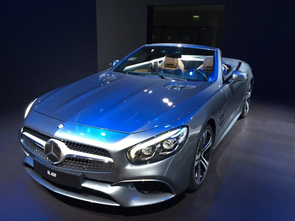 Image 2017 mercedes benz sl450 2015 los angeles auto for Mercedes benz los angeles dealers