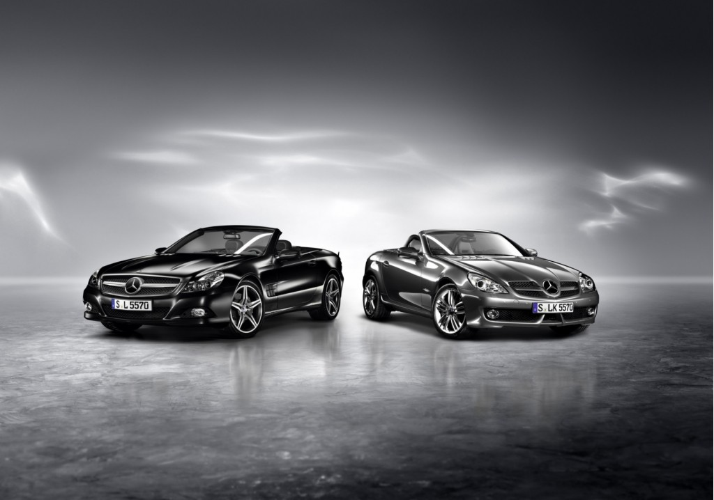 Mercedes-Benz SLK Grand Edition and SL Night Edition