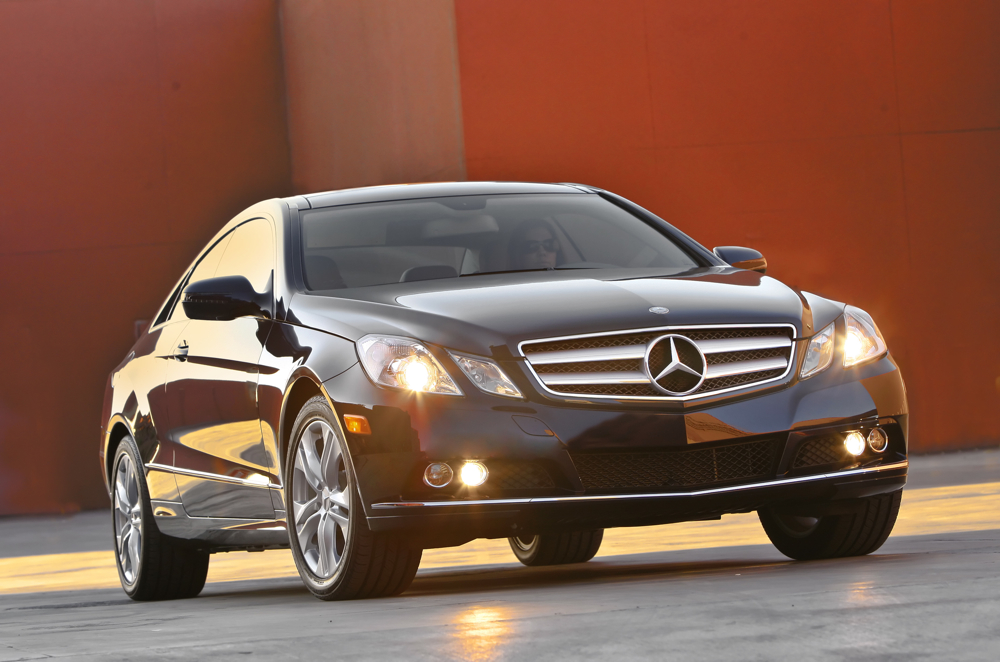 Best Family Luxury Coupes: 2011 Mercedes-Benz E-Class
