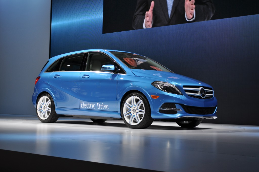 2014 Mercedes-Benz B Class Electric Drive Live Photos