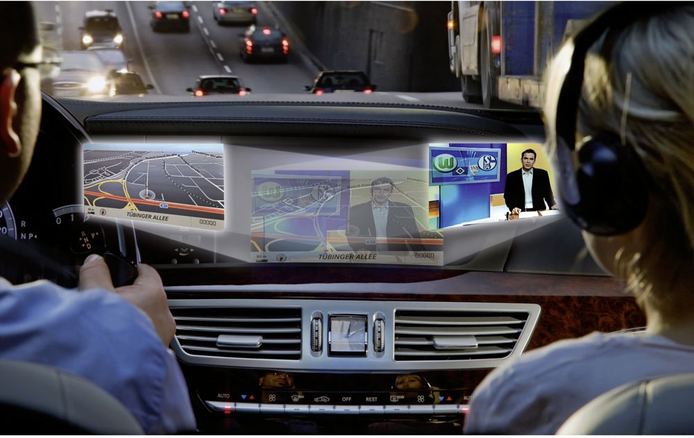 Mercedes-Benz Launching Splitview Technology At L.A. Auto Show