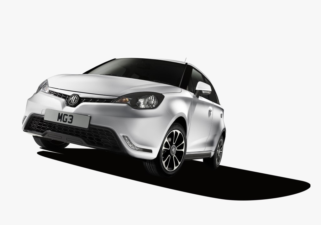 MG3 subcompact, 2013 Shanghai Auto Show