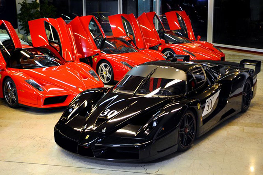 Michael Schumacher Ferrari Enzo And One Off Fxx Up For Sale