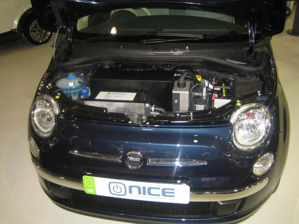 Image Micro Vett Electric Fiat 500 From Nice Car Company 2008 London Motor Show Size 1024 X