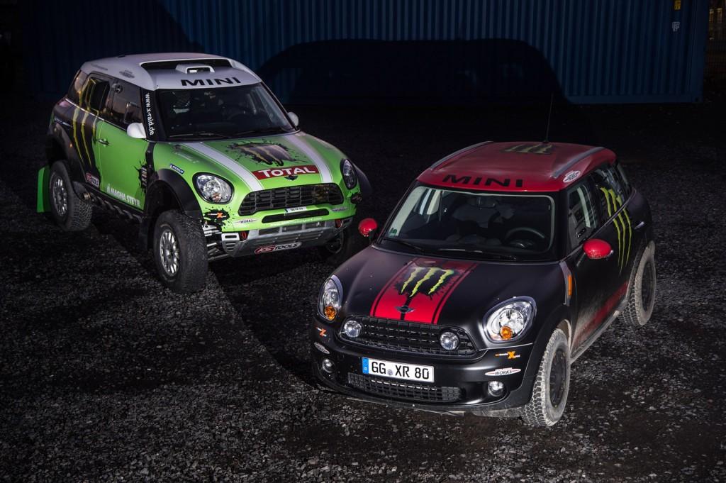 MINI at the 2013 Dakar Rally