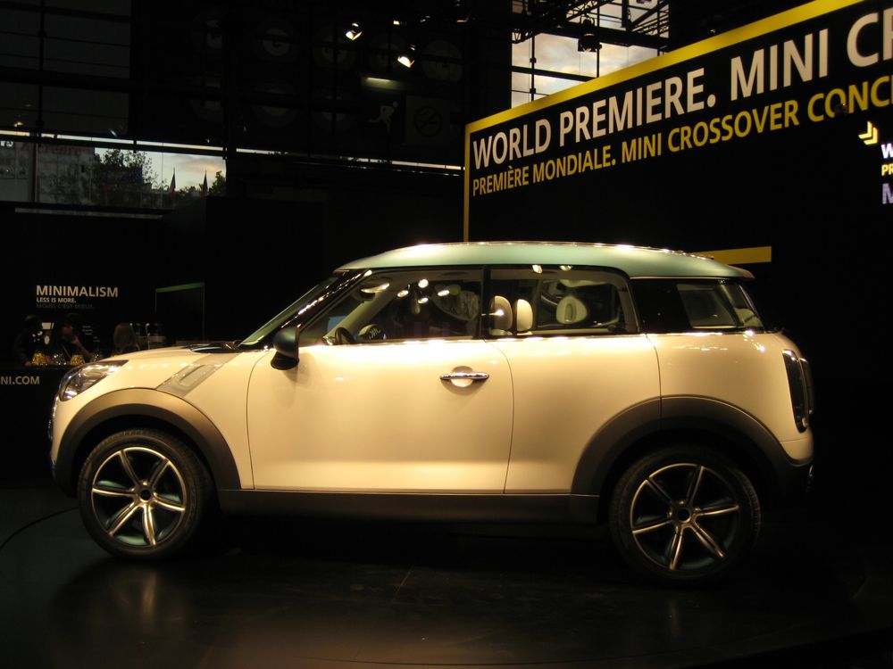 2011 MINI Crossman Concept (2008 Paris auto show)