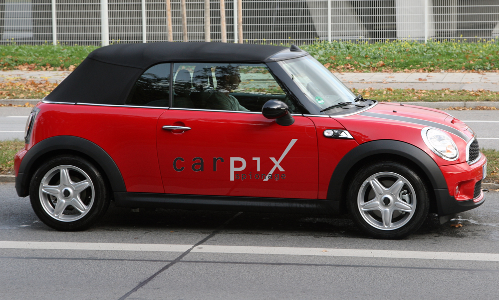 2010 MINI Cooper Convertible spy shots