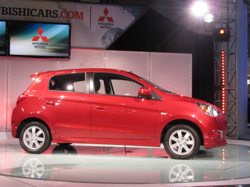 2014 Mitsubishi Mirage at 2013 New York Auto Show