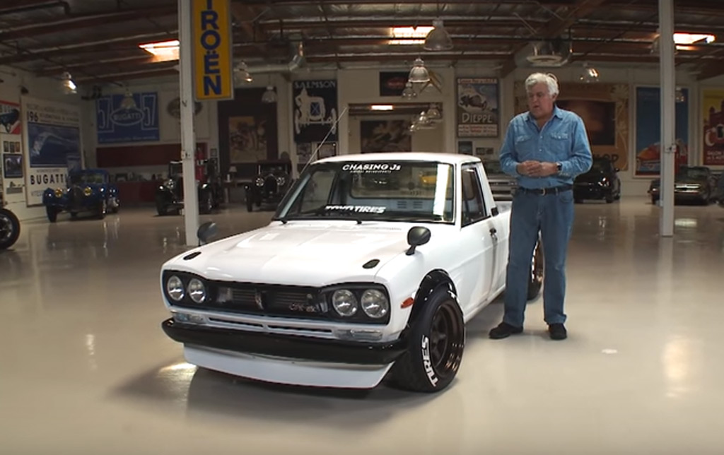 Jay Leno Drives A Datsun Sunny Truck That Looks Like A